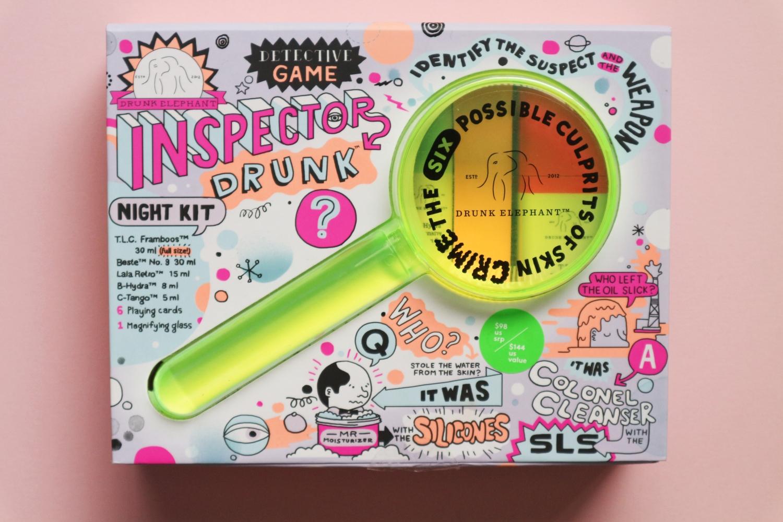 drunk elephant inspector drunk night kit