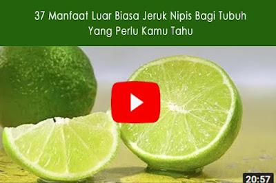Jeruk nipis - Manfaat dan efeknya bagi kesehatan   Bagian 1