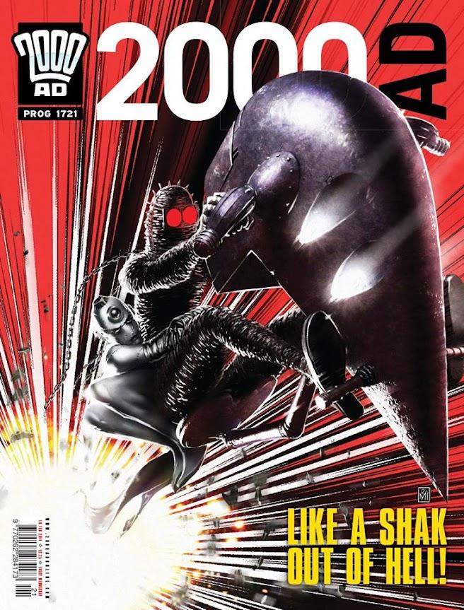 2000AD Prog 1721 - Shakara - Like a Shak Out of Hell