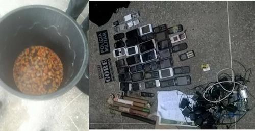 apreensão de material ilicito na cadeia de jaguaruana