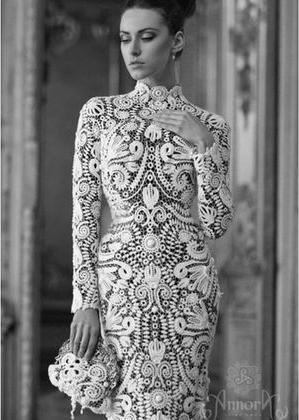 suknie z irlandzkiej koronki
