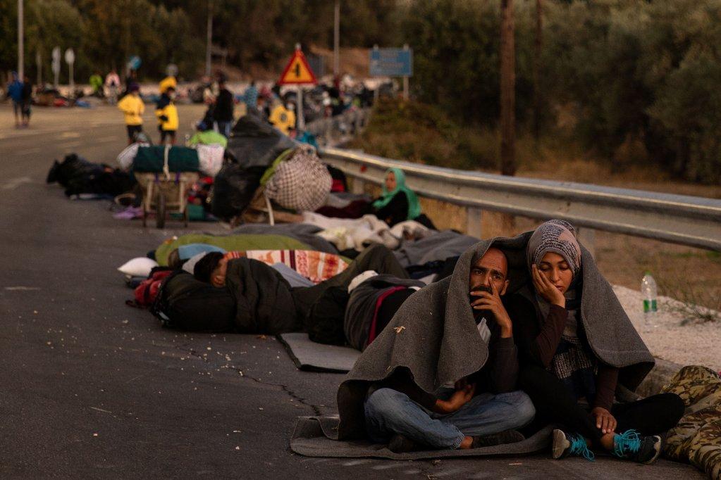 Incendie à Moria : l'Allemagne appelle à une répartition des migrants au niveau européen