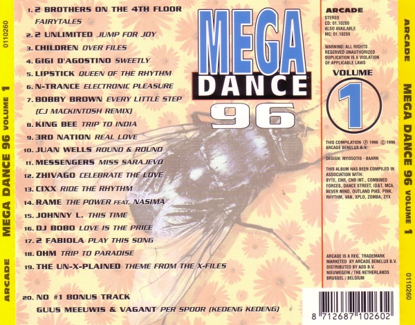 Dance Of The 90 S Mega Dance 96