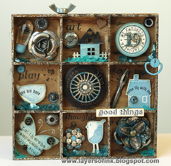 http://layersofink.blogspot.com/2013/07/tiny-stamps-and-trinkets-shadow-box.html