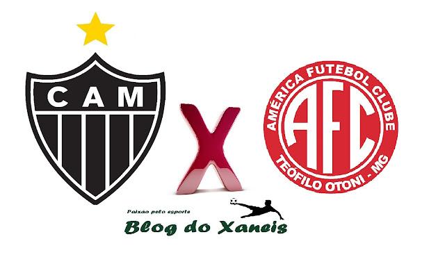 Atlético x América-TO  Campeonato Mineiro