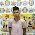 Acusado de morte de adolescentes é preso no Segundo Distrito de Sena