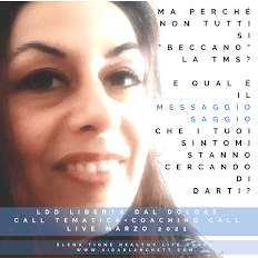 Cosa Stanno Cercando Di Dirti I Tuoi Sintomi, Oggi? Elena Tione Healthy Life Coach - AidaBlanchett.com