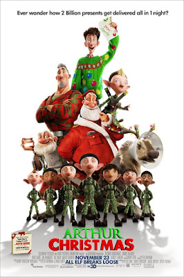 Arthur Christmas 2011 Dual Audio Hindi 720p BluRay ESubs Download