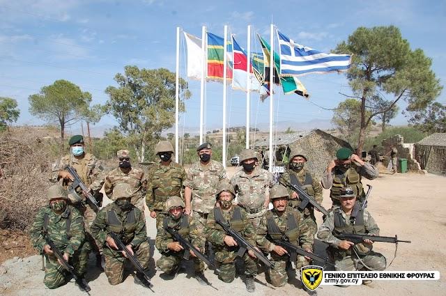 Κύπρος: ΤΑΜΣ «ΠΥΡΙΝΟ ΒΕΛΟΣ» με Συμμετοχή Εθνοφυλάκων από τον Έβρο (ΦΩΤΟ)