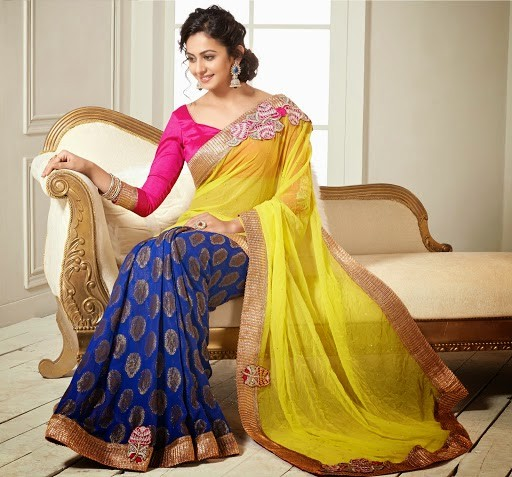 Rakul Preet Singh Photos In Hot Yellow Chiffon Saree