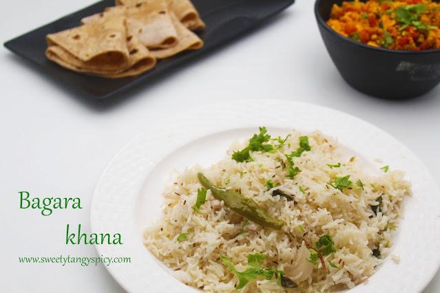 Hyderabadi bagara khana
