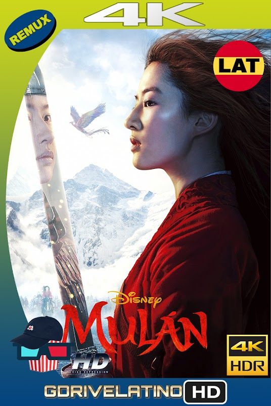 Mulán (2020) BDRemux 4K HDR Latino-Ingles MKV