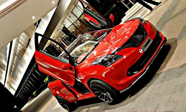Suzuki Baleno Hatcback Modifikasi