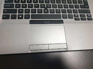 Dell laptop touchpad