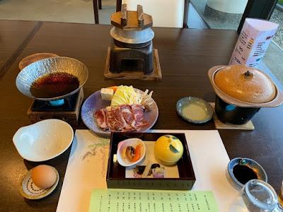 ふよう荘 夕食その1