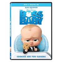 Cover image of The Boss Baby DVD
