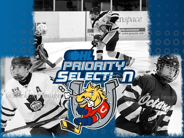 Barrie Colts 2021 OHL Priority Selection Results.