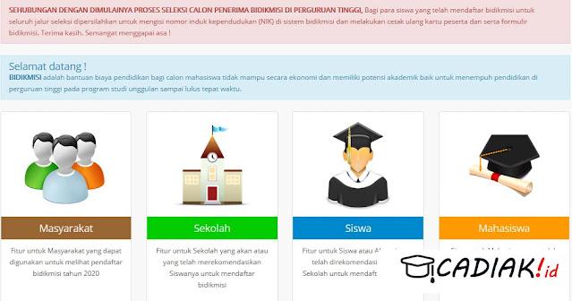 Cara Mendapatkan Beasiswa Kuliah Gratis Bidikmisi