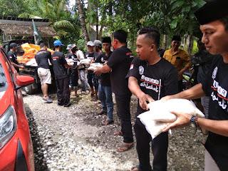 LSN Perduli Banjir, Bagikan 1000 kg Beras Bagi Warga Terdampak