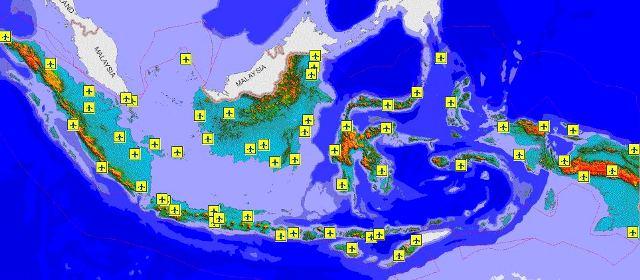 Peta Lokasi Pelabuhan Di Indonesia