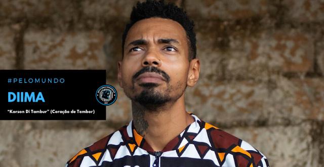 """O guineense Diima lança """"Korson Di Tambur"""" (Coração de Tambor), seu 1° álbum solo"""