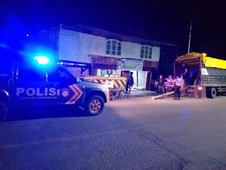 Antisipasi Gangguan Kamtibmas, Personil Polsek Anggeraja Polres Enrekang Tingkatkan Patroli Malam