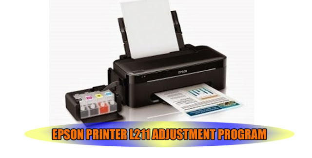 EPSON L211 PRINTER ADJUSTMENT PROGRAM
