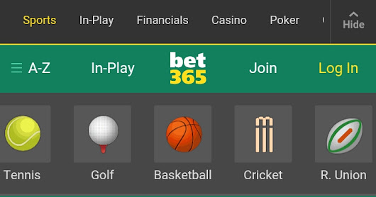 BET365.COM ONLINE BETTING FOR ALL SPORTS