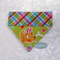 Easter Puppies Over-the-collar Dog Bandanas