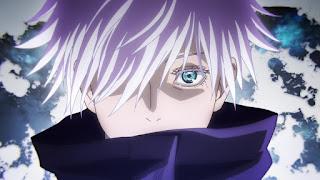 Hellominju.com : 呪術廻戦アニメ 「五条悟 目」    Jujutsu Kaisen   Gojo Satoru   Hello Anime !