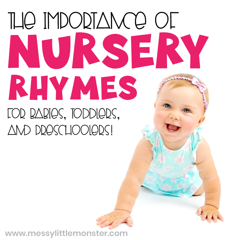 importance of nursery rhymes for babies, toddlers and preschoolers