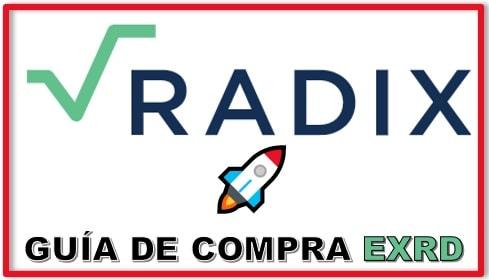 Cómo y Dónde Comprar Criptomoneda RADIX (EXRD) Tutorial