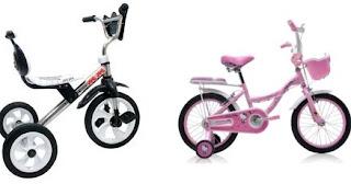 Daftar Harga Sepeda Anak Murah Terbaru