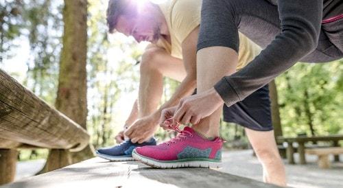 Jogging sore hari cara membakar lemak di paha