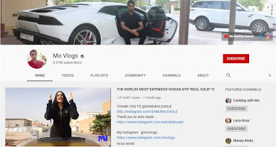 Mo Vlogs channel