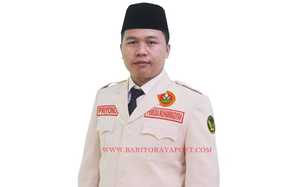 Priyono, Terpilih Sebagai Ketua Pemuda Muhammadiyah Kalteng 2018-2022