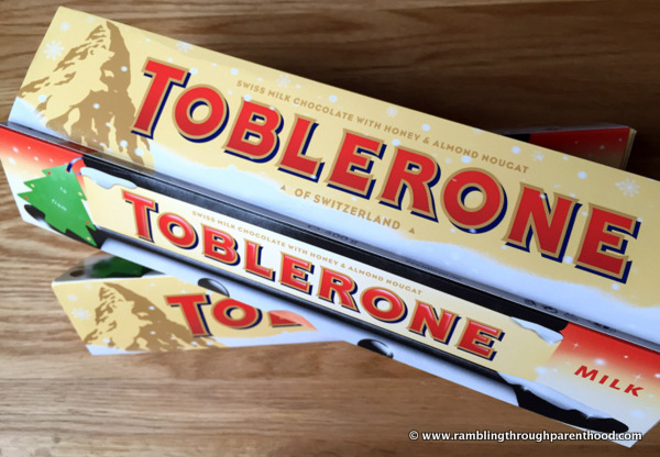 Toblerone makes a great Christmas gift