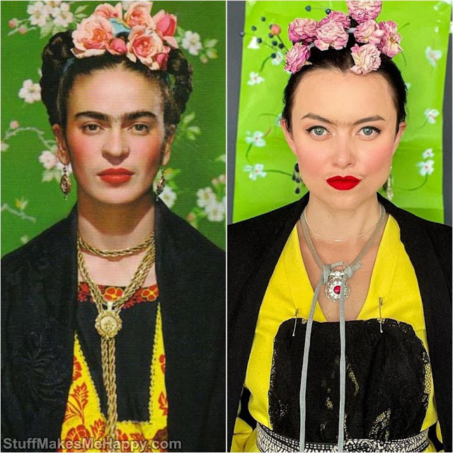 Self-portrait (Frida Kahlo)