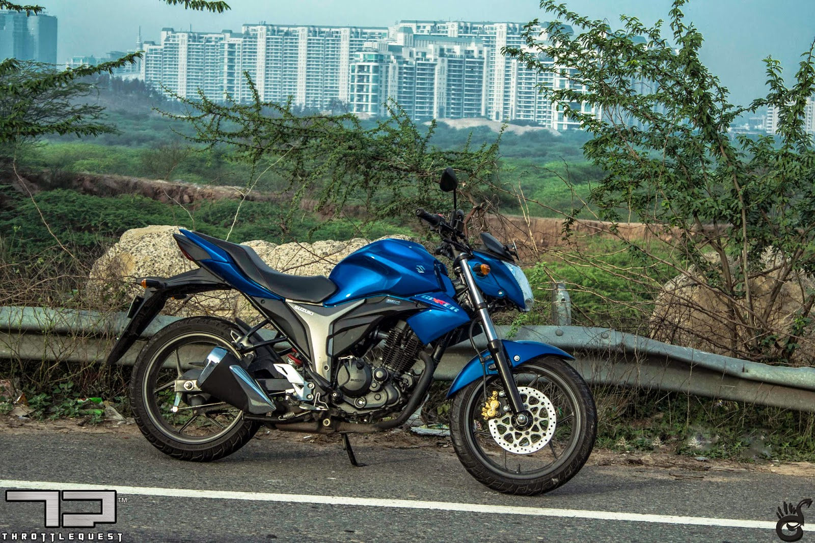 Suzuki Gixxer: First Ride - ThrottleQuest