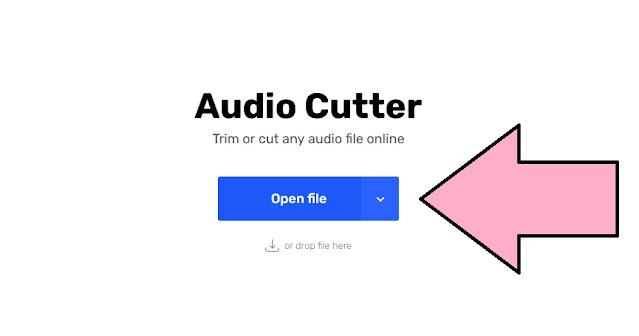 طريقة تقطيع الاغاني اونلاين mp3 cutter بشكل احترافي بدون تطبيقات او برامج