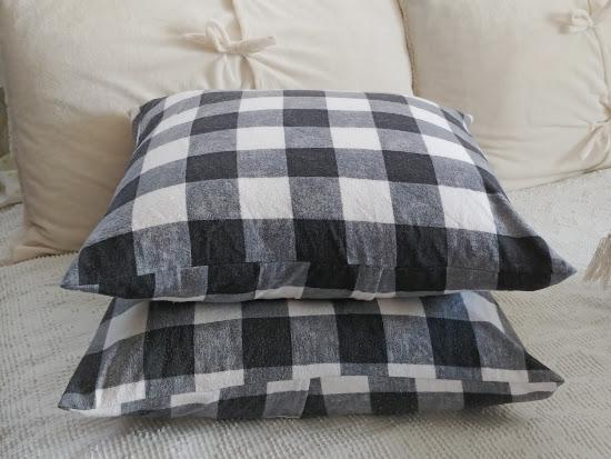 Easy DIY Envelope Pillow Covers