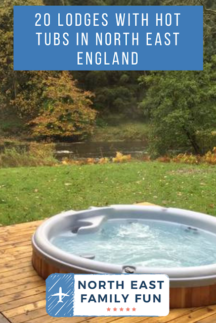 20 lodges with hot tubs within a 2 hour drive of Newcastle Upon Tyne