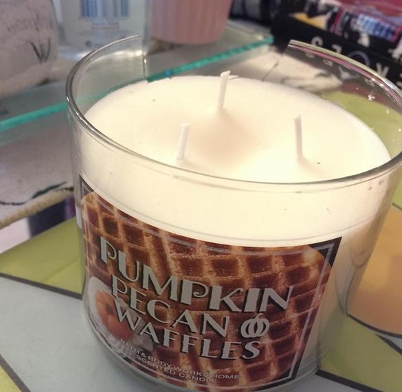 Pumpkin candle Bath & Body Works