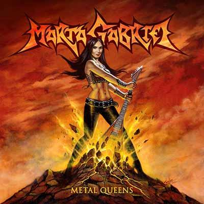 """Ο δίσκος της Marta Gabriel """"Metal Queens"""""""