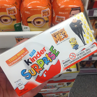 kinder surprise despicable me