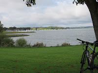 Cycling and taking pictures of Rutland water - by: © Paul c Walton
