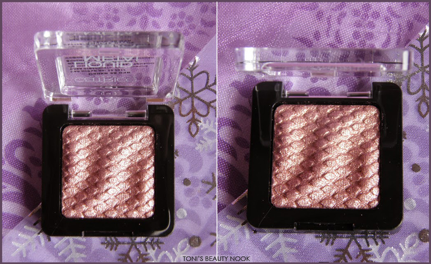 catrice Gold 'n Roses liquid metal eyeshadow