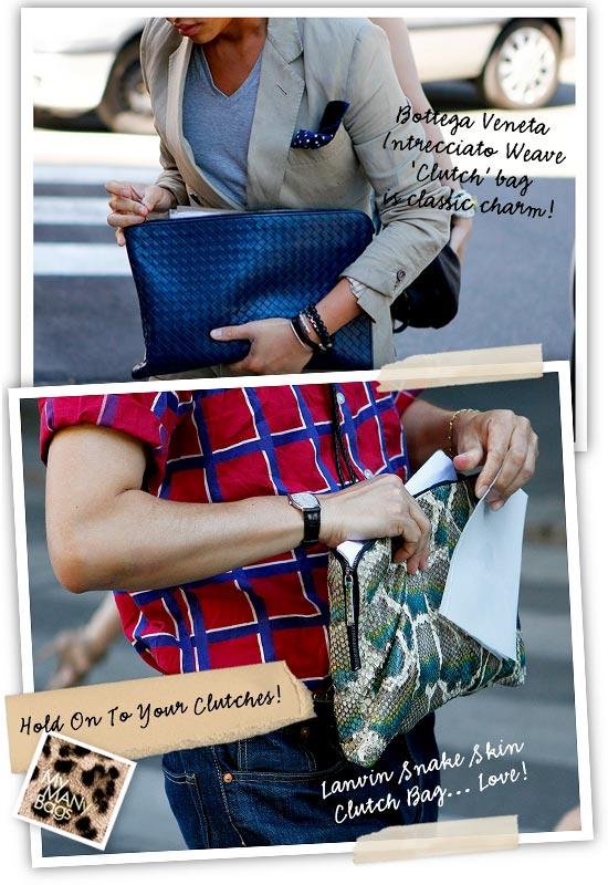e0c00638954e Below  or make it 4... Trussardi 1911 and Prada... I love man clutches!