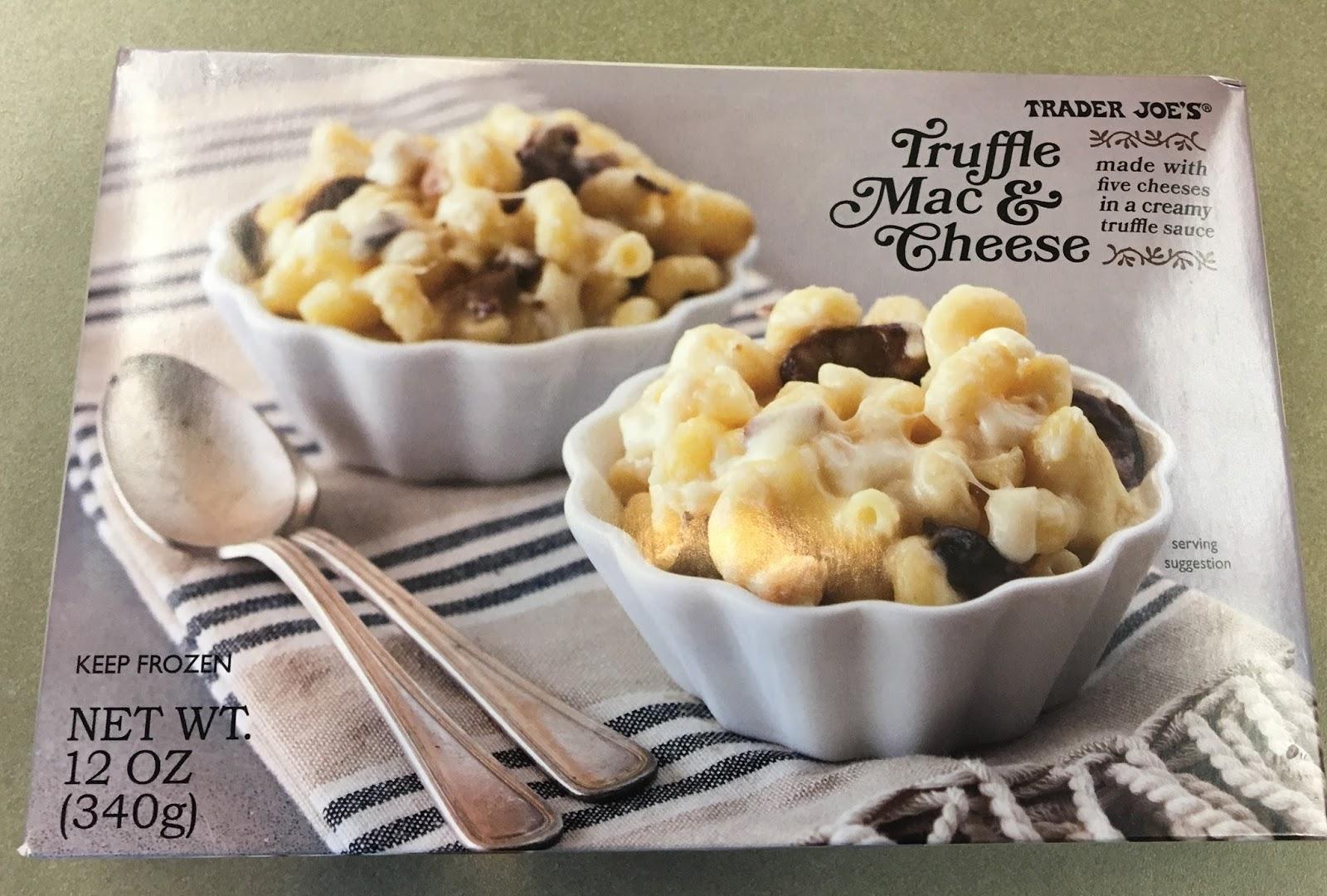 what s good at trader joe s trader joe s truffle mac cheese