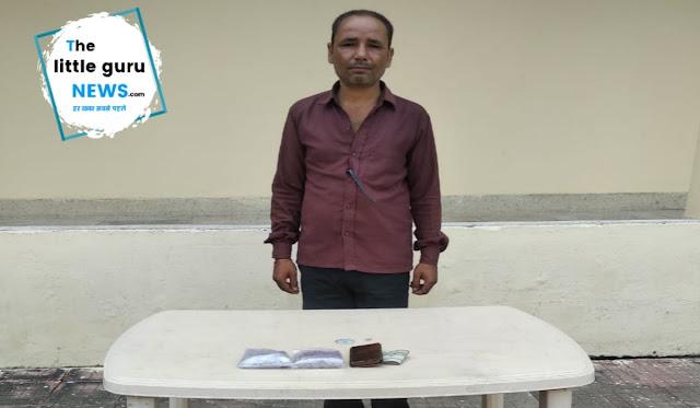 छौड़ादानो में 41 लाख रुपये के प्रतिबंधित नशीले पदार्थ मार्फिन के साथ युवक हुआ गिरफ्तार